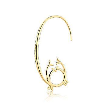 Sternzeichen Ohrring Krebs von Louis Vuitton