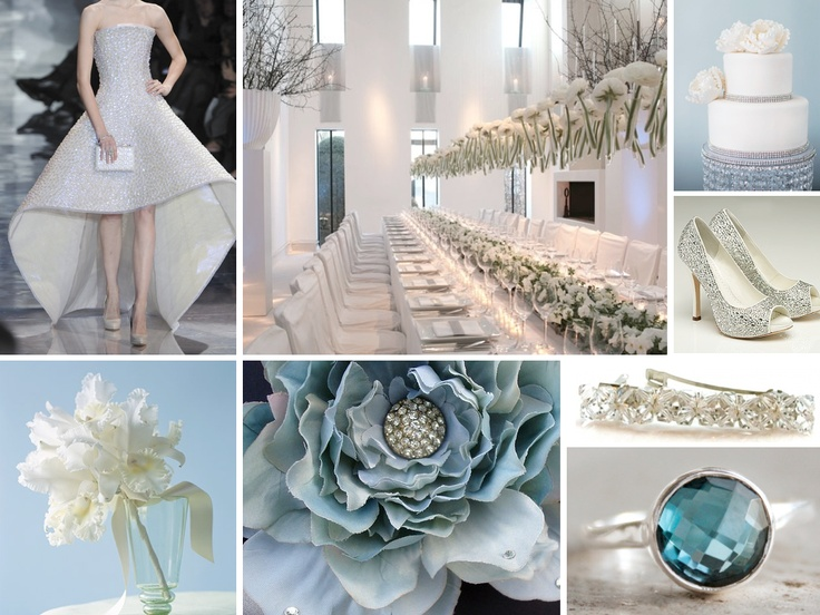 Very pretty and elegant :) I can totally see these as my wedding colors :)