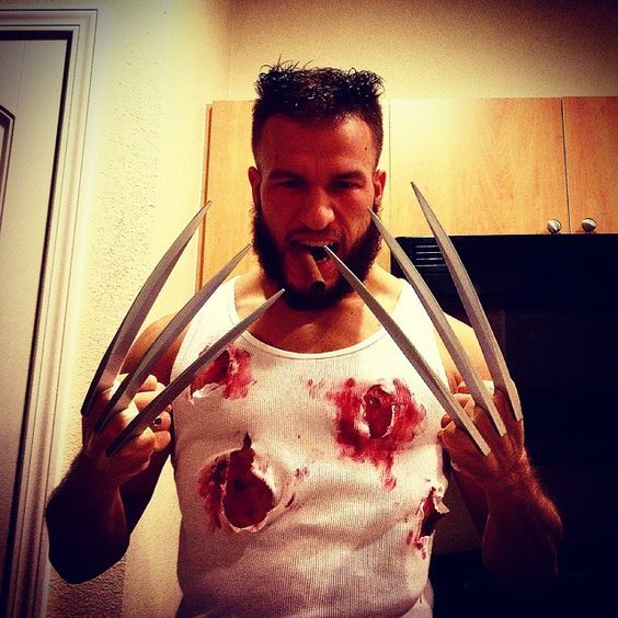 diy xmen wolverine logan halloween costume idea