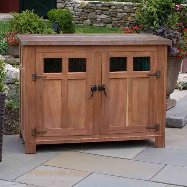 Exterior TV cabinet - Plasma Lift (Televison Cabinets from Blackington Furniture)