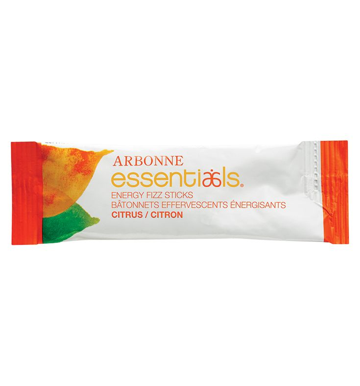 Arbonne Essentials® Energy Fizz Sticks - Citrus CA #2077 - Arbonne