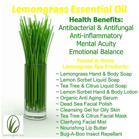 how to make lemongrass tea with essential oil