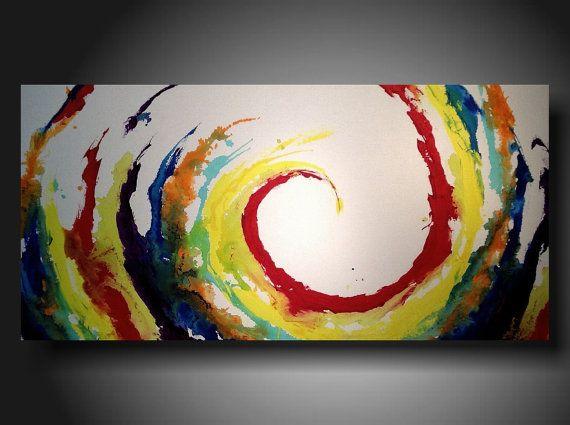 Art Original abstract Painting modern  painting by JMJARTSTUDIO, $339.00
