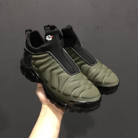 the latest 3653b 25c8a Cheap Nike Air Max Plus Slip SP TN Black Green Mens shoes Only Price 60 To  Worldwide and Free Shipping!! WhatsApp8613328373859