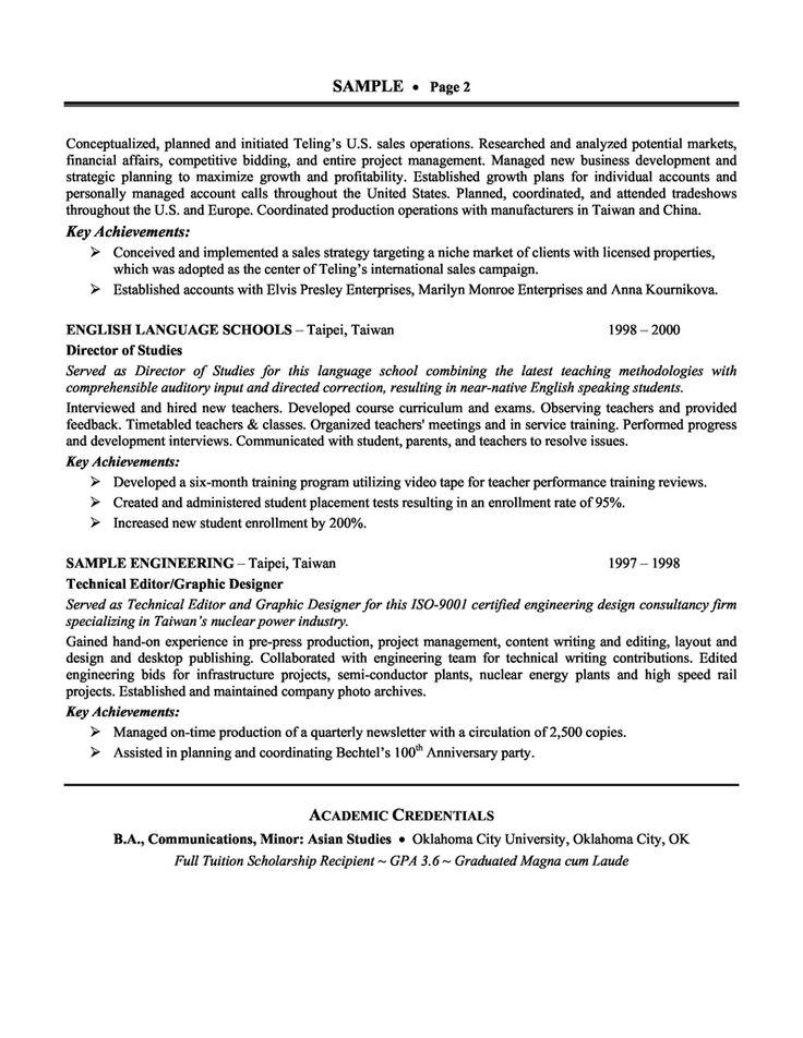 Πάνω από 25 κορυφαίες ιδέες για Executive resume template στο - marketing resume template