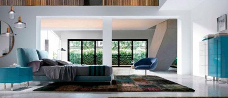 Dormitorios MID-Century | El retro más moderno Juega con los colores del #dormitorio Luna y crea tu propia combinación  #Decoración #MidCentury  Interiorismo, deco, interiorism, diseño de interiores, interior design