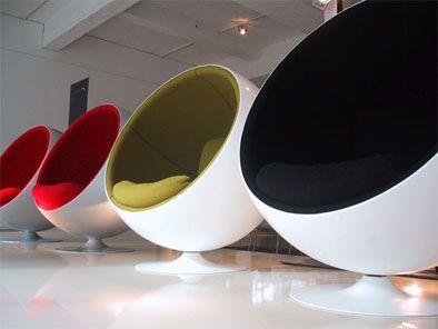 Silla Ball, Un Icono Del Diseño De Eero Aarnio Http://icono  Nice Design