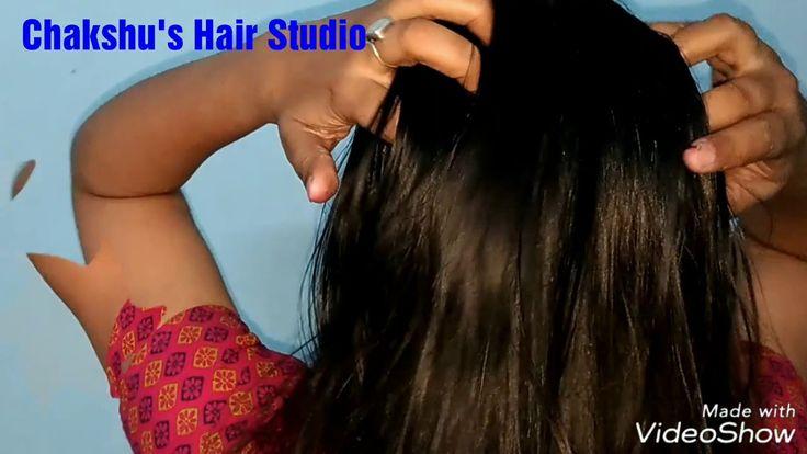 Long hair oiling/how to apply oil in long hair
