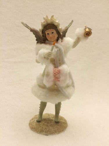 Figura-Estatuilla-De-Angel-de-beautifil-Victoriano-De-Invierno