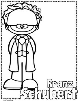 composer coloring pages - 353 best music images on pinterest music education