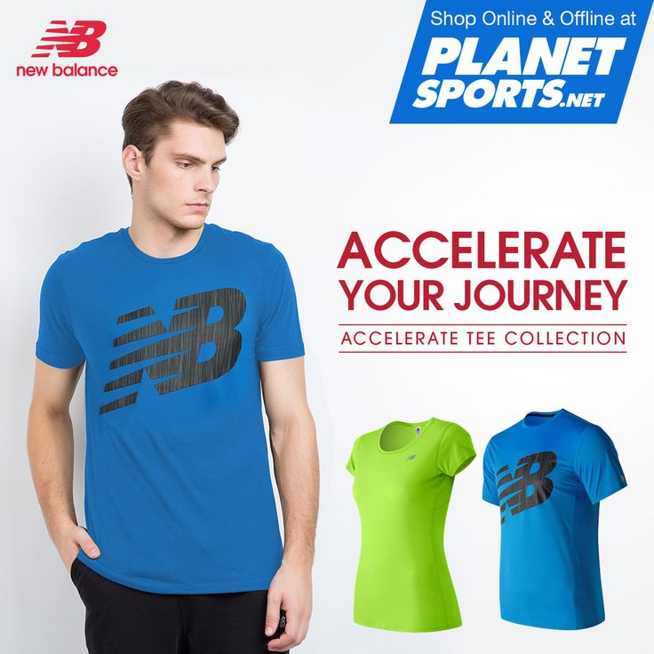 Go ahead and break a sweat: NB Dry technology wicks quickly to help keep you dry and ventilated. Breaking a sweat is no sweat in the moisture wicking Accelerate Short Sleeve Graphic Top. Reflective tape ups your visibility during nighttime runs.
