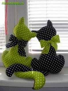 Cat Twin Pillows