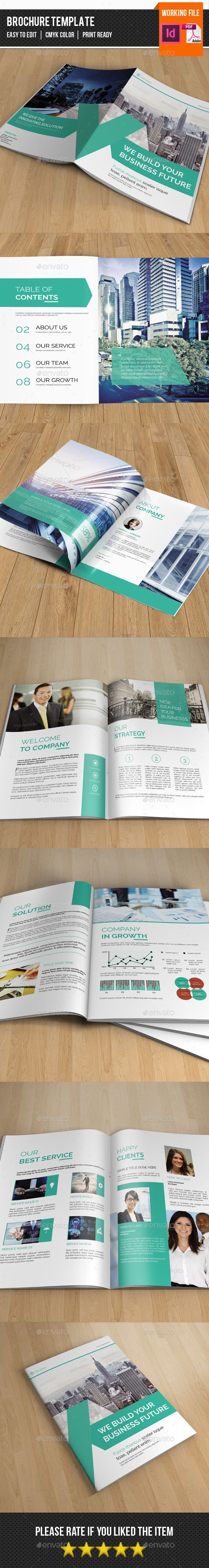 Corporate Brochure Template-V309 - Corporate Brochure Template InDesign INDD. Download here: http://graphicriver.net/item/corporate-brochure-templatev309/13079560?s_rank=1782&ref=yinkira