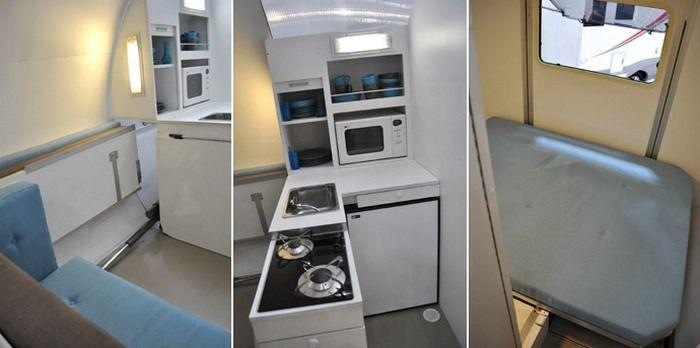 Две комнаты и кухня.