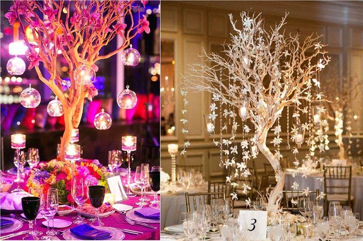 1000 images about divers d coration mariage on pinterest - Deco avec des branches d arbres ...