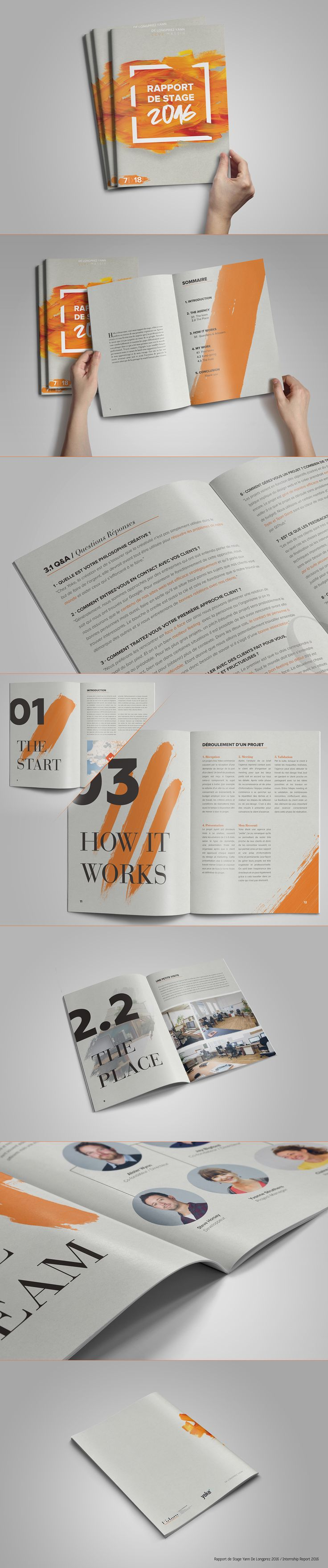 """Check out this @Behance project: """"Internship Report 2016 / Rapport de Stage 2016"""" https://www.behance.net/gallery/44550071/Internship-Report-2016-Rapport-de-Stage-2016"""