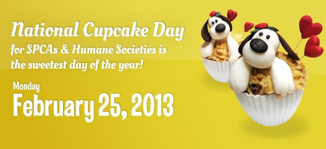 SPCA Cupcake Day: Third Party Fundraising
