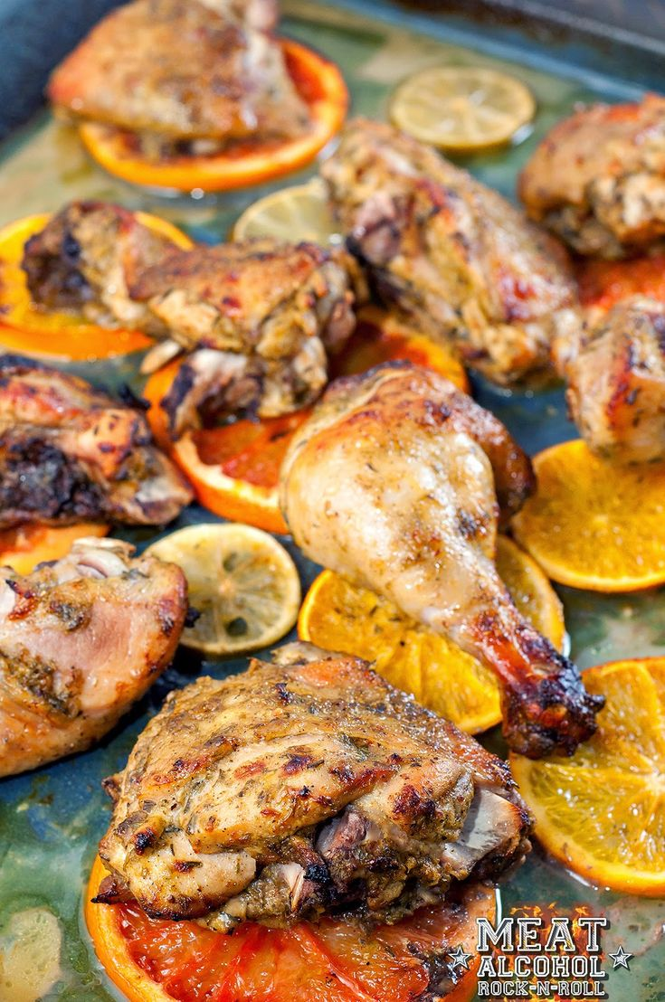 "Meat, Alcohol, Rock-n-roll: 005 - (Ямайская кухня) Курица ""Джерк"""