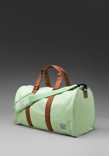Ravine Dufle Bag in Sage/Tan for all my summer trips