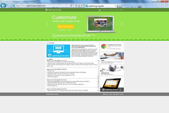 Tab.lightningnewtab.com est un site contrefait qui entre dans la catégorie d'un pirate de navigateur . C'est l'homme de causinginternet redirectionsand exploitant la sécurité de l'ordinateur cible.