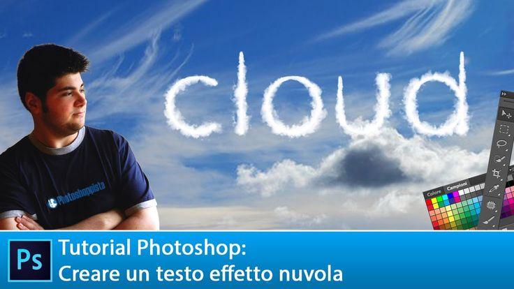 Vedremo come realizzare un testo con effetto nuvola in maniera molto realistica. Semplice da realizzare e con possibilità di sfruttarlo anche per una vostra fotomanipolazione.