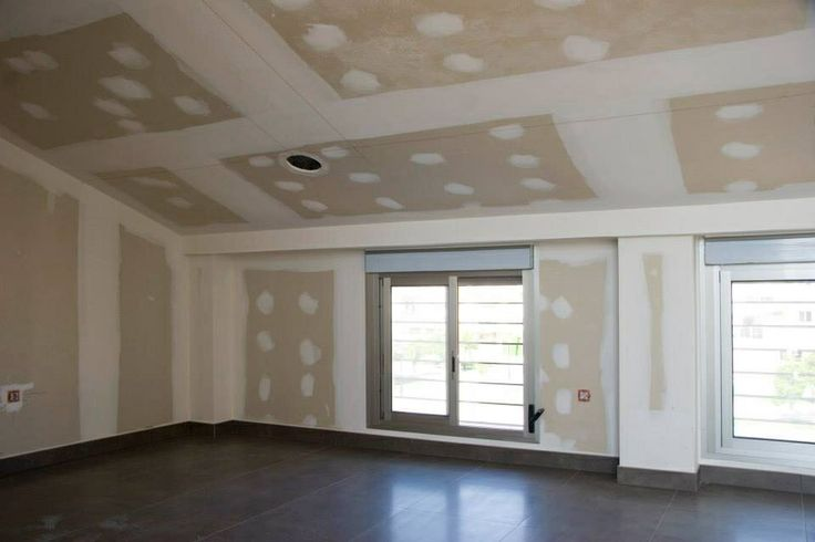 Buhardilla, trasdosado y techo placa cartón yeso. Aislamiento térmico y acústico.