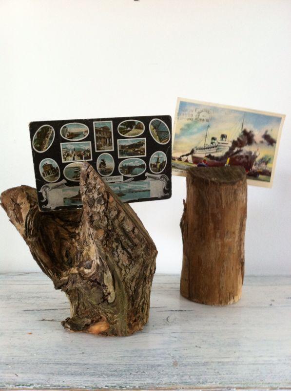 * woodgoods * kaartenhouder van boomtak | vanaf 4,50 euro