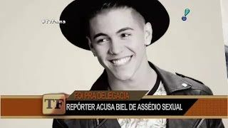 Repórter acusa MC Biel de assédio sexual