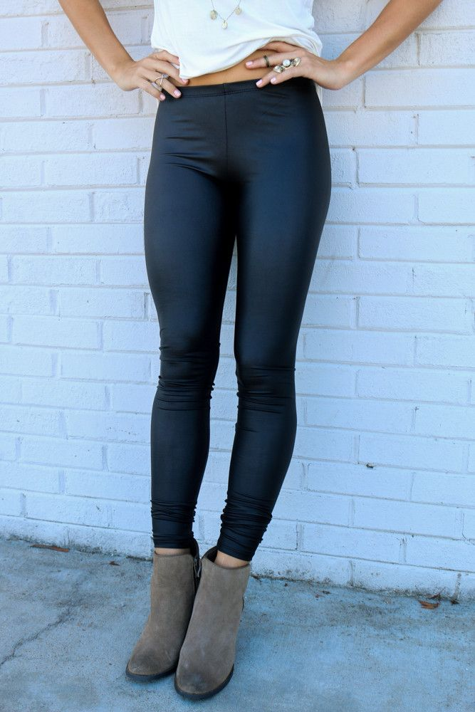 RESTOCK ALERT!!! Canu0026#39;t Get Enough Black Liquid Leggings | Amazing Lace Outfits On Fleek ...