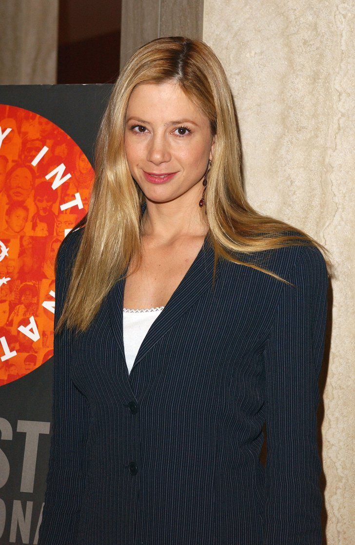 Pin for Later: 24 Celebrities Who Have Probably Found the Fountain of Youth Mira Sorvino — 2004