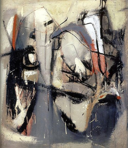 Franz Kline abstract painting