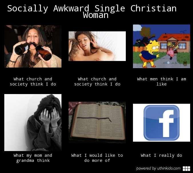Single christian woman
