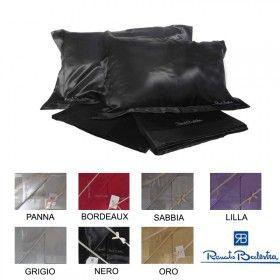 Completo lenzuola matrimoniale in Raso - Renato Balestra
