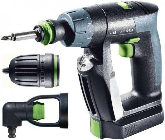 Festool 564533 Cordless drill 10.8V CXS LI 2,6 Set GB 240V