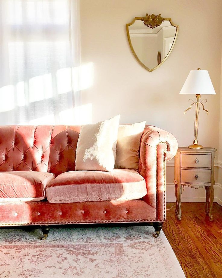 Lyre Chesterfield Two Cushion Sofa Romantisch Wohnen Cushions On
