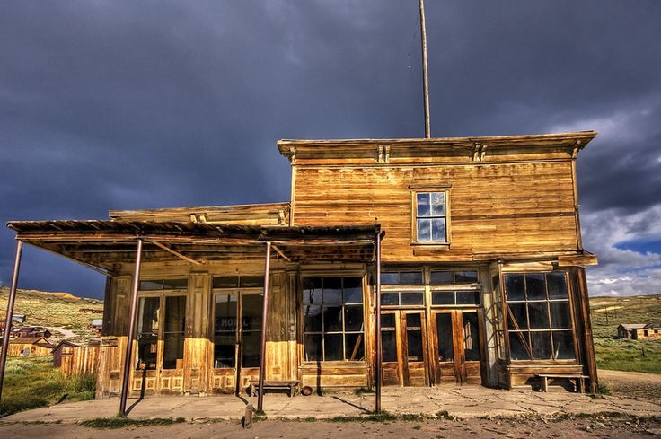 Vacancy at Bodie Hotel. The ghost town once had two banks, four volunteer fire companies, several daily newspapers, a brass band, a railroad, a whopping 65 wild west saloons . . . and only one jail for those who survived barroom brawls turned to shootouts. Photo #5 by Wolfgang Staudt