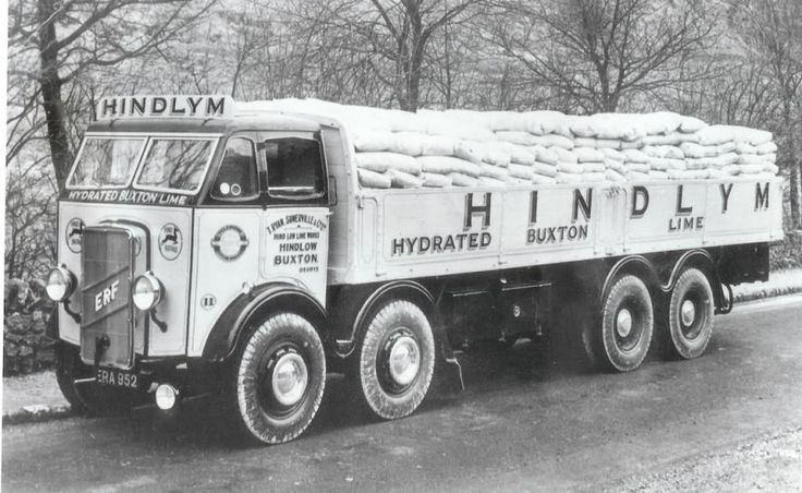 #Vintage #Truck - When Drivers had Arms like Tree-Trunks :-) .......... fred67.com/library .......