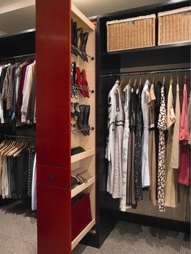 Storage & Closets Photos Odd Shape Design, Pictures, Remodel, Decor and Ideas - page 9 pullout for shoes