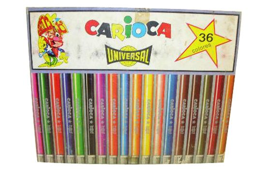 Rotuladores-Carioca , caja de 36