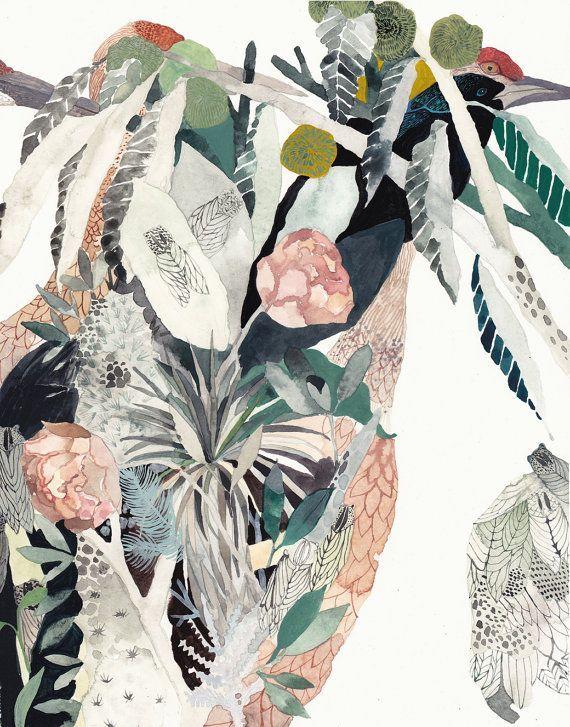 Cranes Garden - Michelle Morin