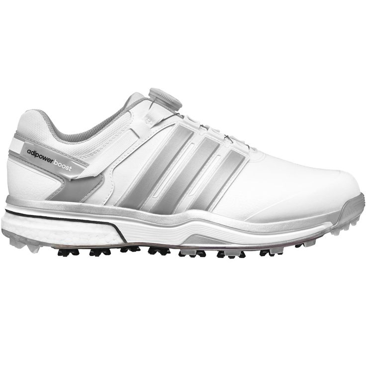 Adidas Adipower BOA Boost Golf Shoes Closeout White/Silver | Products |  Pinterest | Golf shoes, Boas and Hand gloves