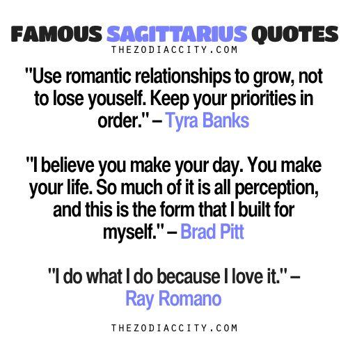 Famous Sagittarius Quotes: Tyra Banks, Brad Pitt,... - TheZodiacCity - Get Familiar With Your Zodiac Sign