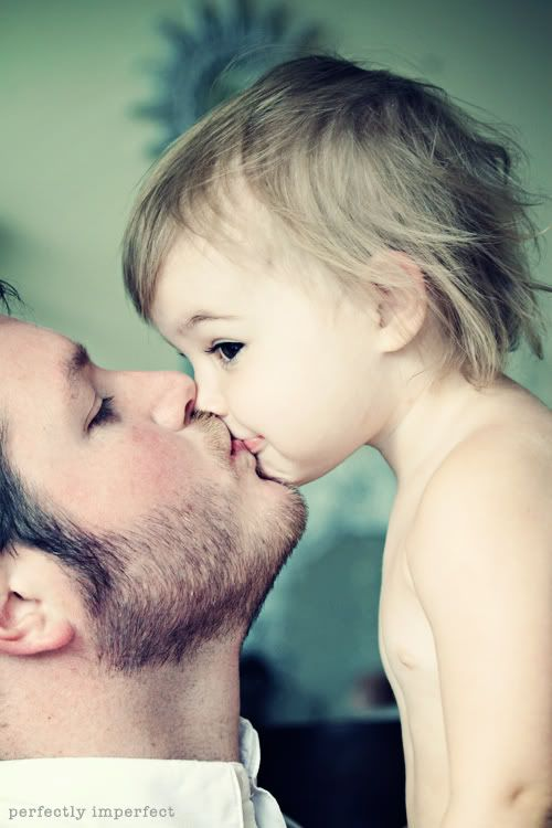 soo sweet daddy kisses