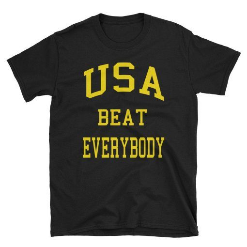 USA Champions Cool T-Shirt with Tear Away Label