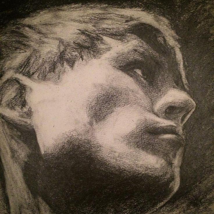 By Klaudia Orłowska #face #drawing #pencil #sketch #portrait
