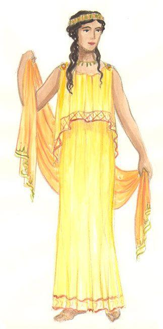 Model Greek Fashion  Ancient Greece Fashion  Pinterest