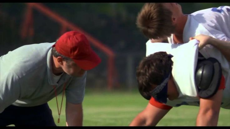The Death Crawl scene from Facing the Giants - When motivation is lacking in the classroom.