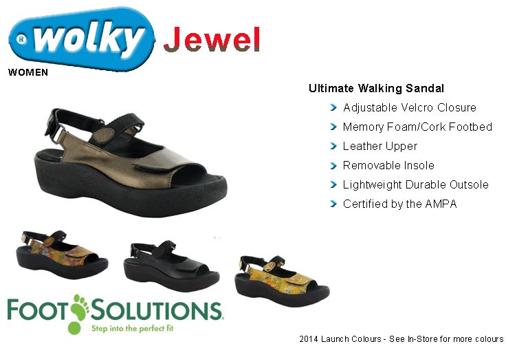 Wolky Jewel - Women // Spring 2014 Launch Colours