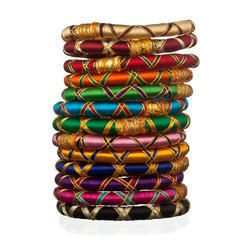 Silk Thread Bangle Manufacturers,Resham Ke Dhage Wali Choodi ...