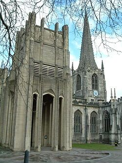 Sheffield Cathedral, South Yorkshire, England